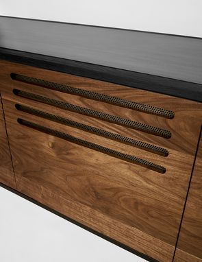 Custom Made Cave Credenza By Cauv Design