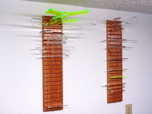 Custom Made Quilter's Hanging Ruler Rack