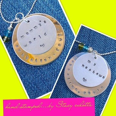 Custom Made Family Necklace