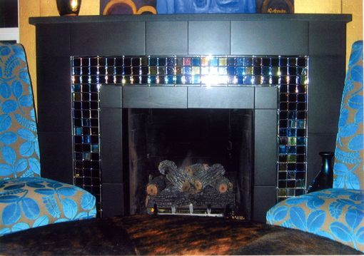 Custom Made Crystal Visions Fireplace