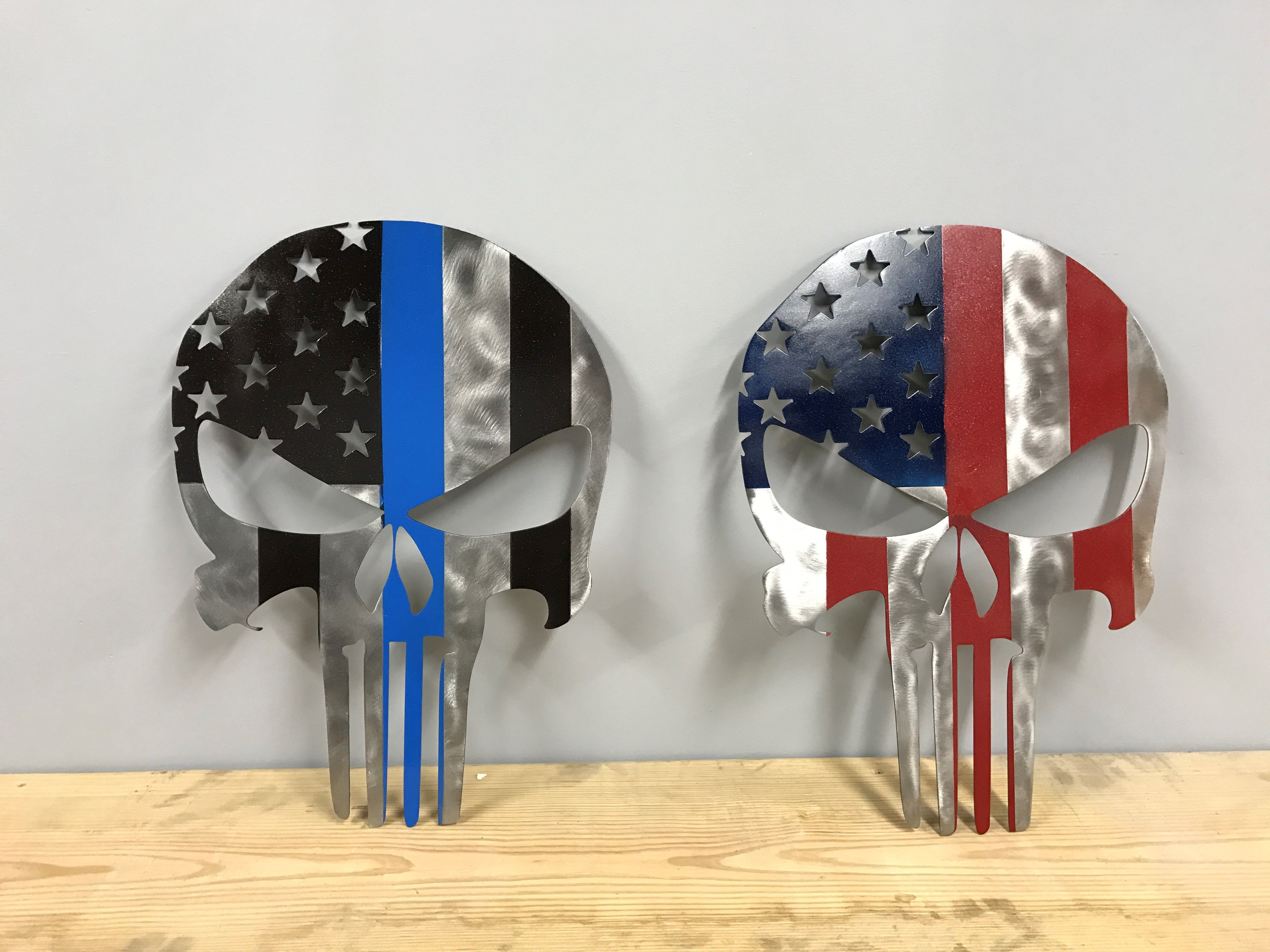 6574202257e Buy a Hand Crafted Metal American Punisher Skull