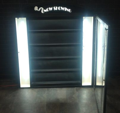 Custom Made Retail Lighted Display Case