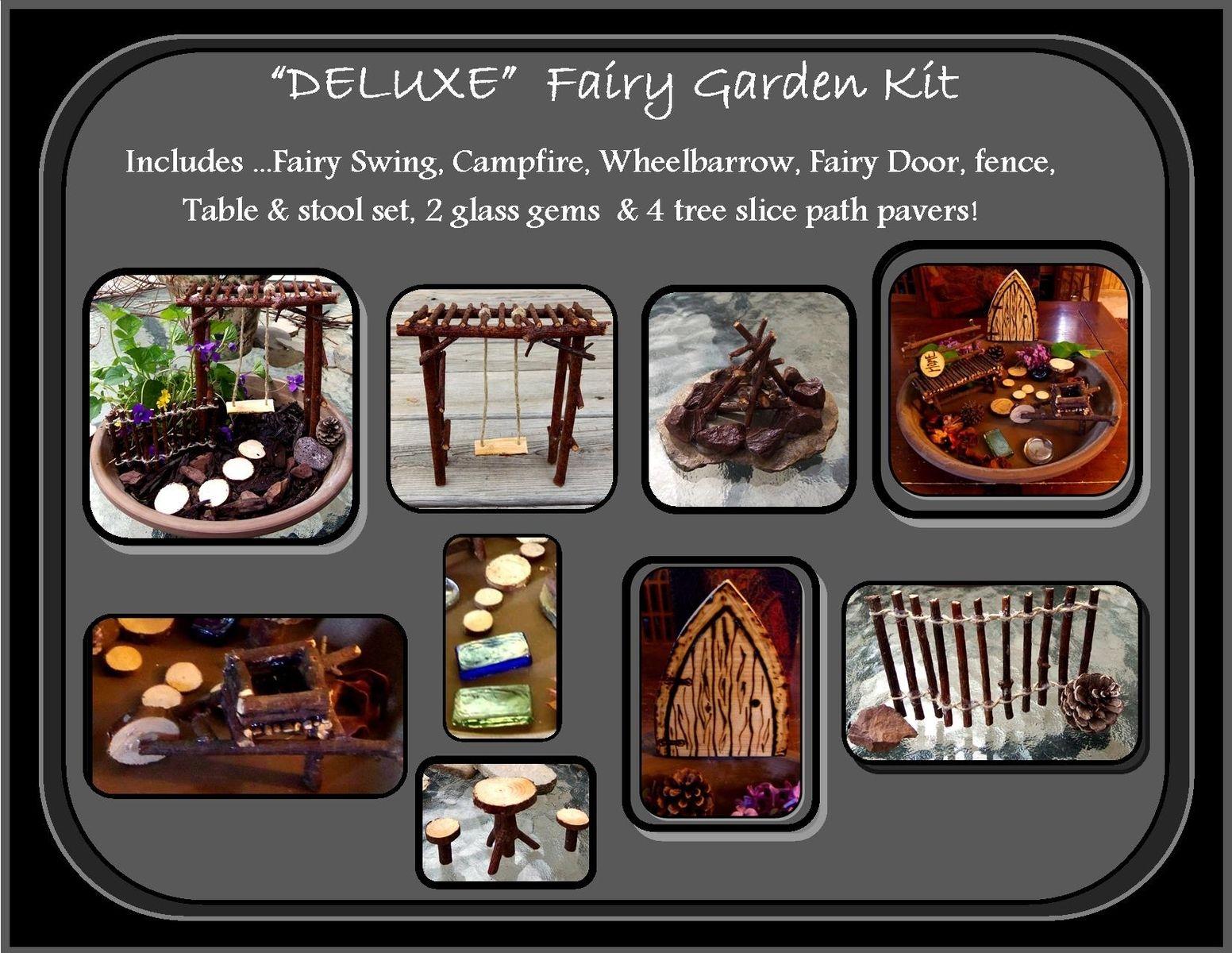 Handmade Fairy Garden Kits Fairy Garden Fairy Furniture Fairy