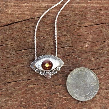 Custom Made Greek Evil Eye Necklace | Celebrity Style Evil Necklace | Cloisonne Enamel Evil Eye Jewelry