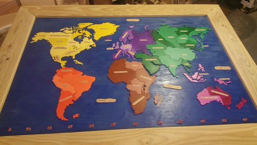 Custom Made Custom Risk Board Game