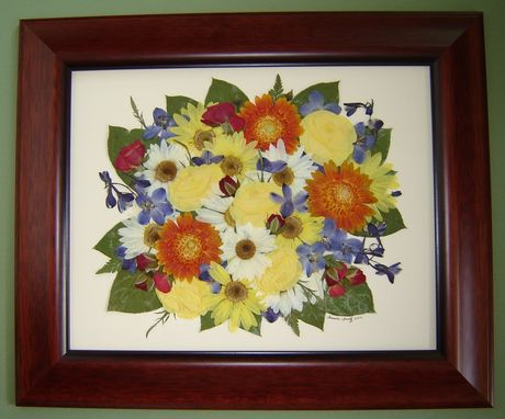Custom Made Floral Preservation ~ Funeral/Memorial Flowers