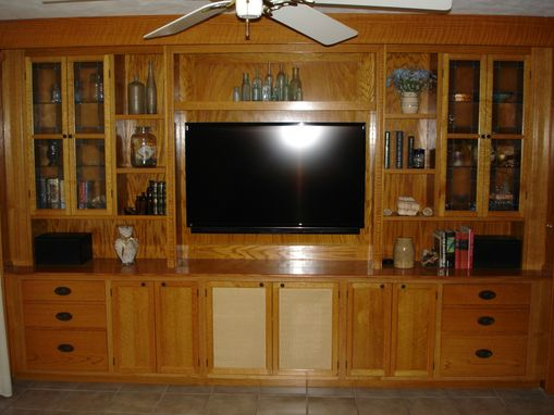 Custom Made Wall Unit For Everything