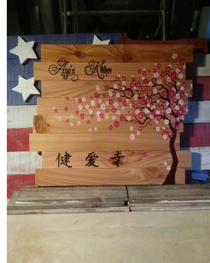 Custom Made Multi Board Cedar Wall Art From $65
