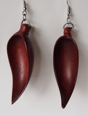 Custom Made Bloodwood Earrings