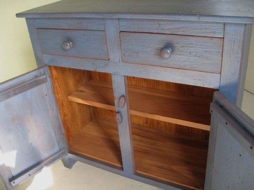 Custom Made Custom 2 Door Old Pine Buffet