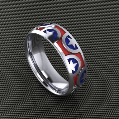 Custom Made American Patriot Band- Gents