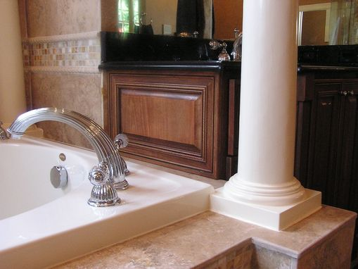 Custom Made Master Bath Vanities
