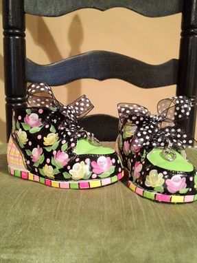 Custom Made Custom Hand Painted Baby Shoes Personalized