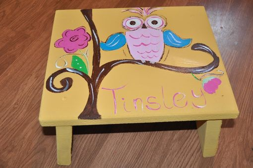 Custom Made Girls Toy Box And Stool