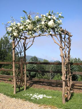 Custom Made Rhododendron Wedding Arbor