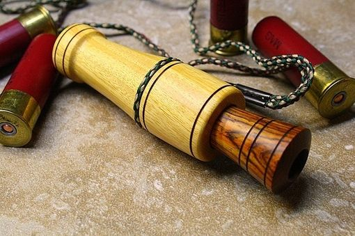 Custom Made Osage Orange And Cocobola Duck Call
