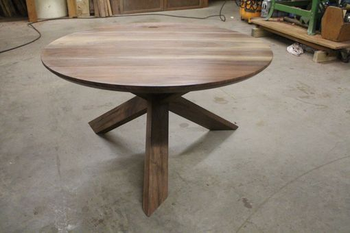 Custom Made Handmade Black Walnut Coffee Table