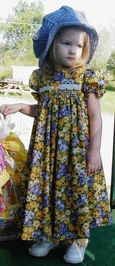 Custom Made Little House On The Prairie Child's Costume