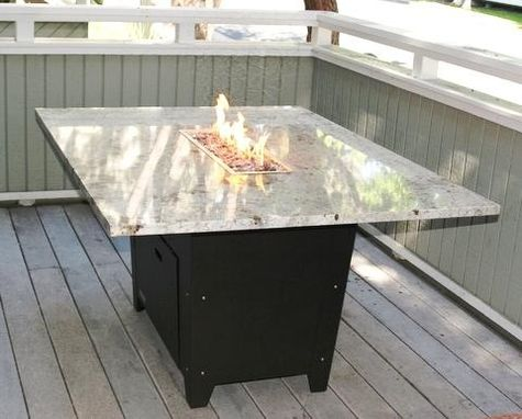 Custom Made Newport Fire Pit Table