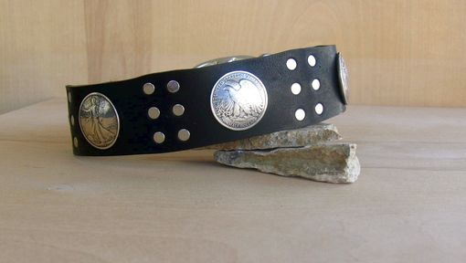 Custom Made Custom Dog Collar:  Manly