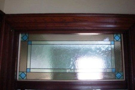 Custom Made Mission Style Interior Transom (Tw-17)