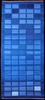 Custom Made Rug: Air (Hand-Woven With Hand-Dyed Wool)