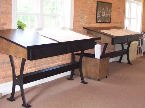 Custom Made Drawing Review Desks