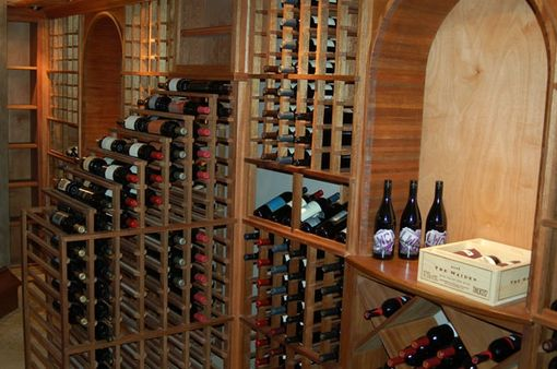 Custom Made Bedford Wine Cellar
