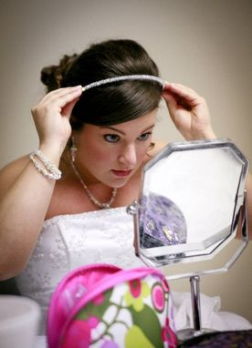 Custom Made Custom Bridal Swarovski Crystal Headband