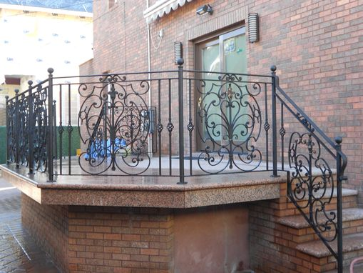 Custom Made Outdoor Railing / Patio