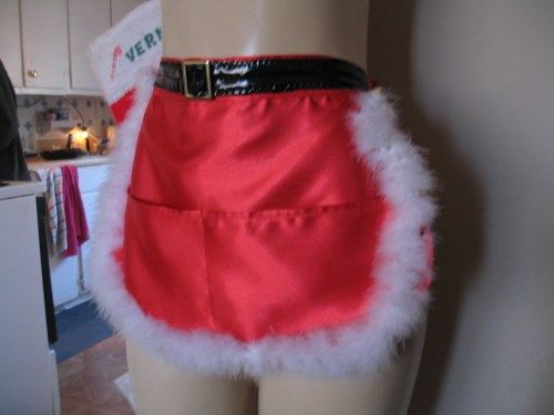 Custom Made Santa Apron