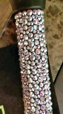 Custom Made Swarovski Rhinestone Walking Cane - Get Noticed With This Beauty!