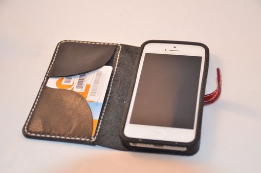 Custom Made All Hand Made Leather Iphone 5 Case