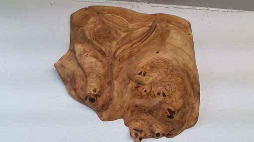 Custom Made Maple Burl Wall Art