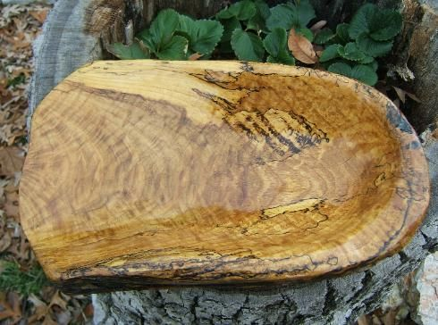 Custom Made White Oak Bowl.