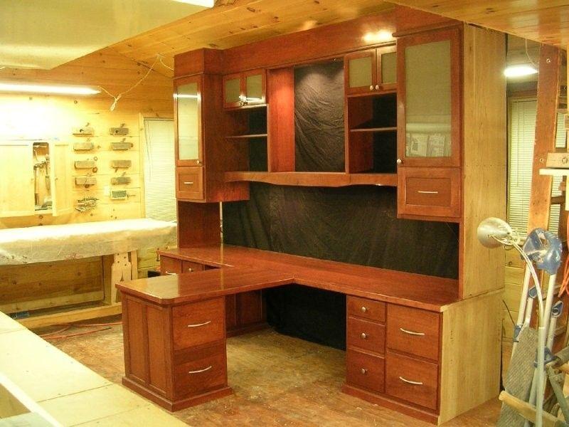 Cherry Wood Desk