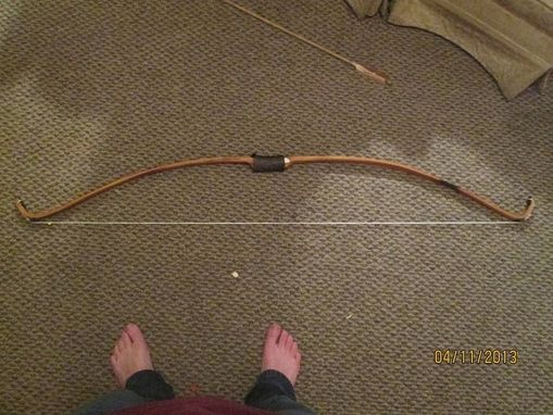 Custom Made Osage Orange Recurve Bow