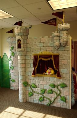 Custom Made Kids Play Castle