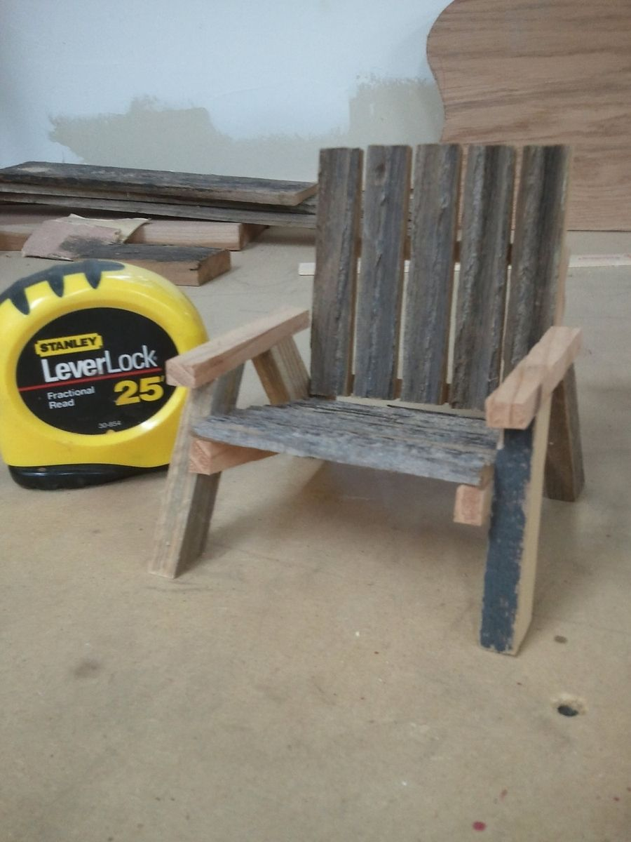 low priced 47629 39599 Handmade Small Rustic Chair Business Card Or Cell Phone Holder by ...