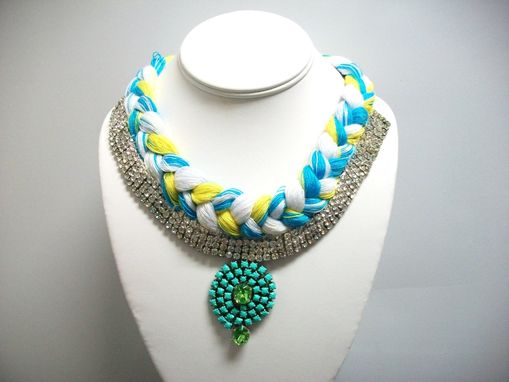 "Custom Made Braided Necklace ""Ani''"