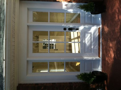 Custom Made Entry Door With Sidelights