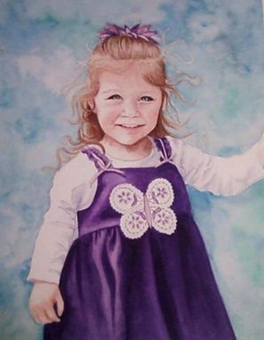 Custom Made Custom Watercolor Portrait From Your Photo