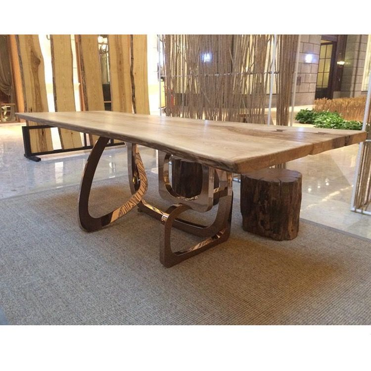 Buy A Hand Made Live Edge Reclaimed Wood Dining Room