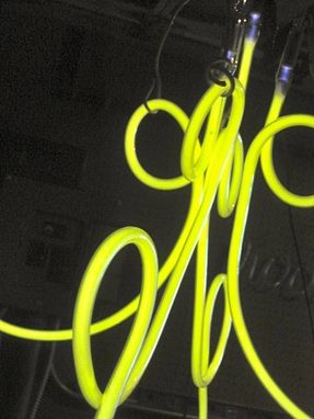 Custom Made Handmade Neon Chandelier-Xtra Large Size