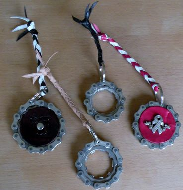 Custom Made Bicycle Keychains