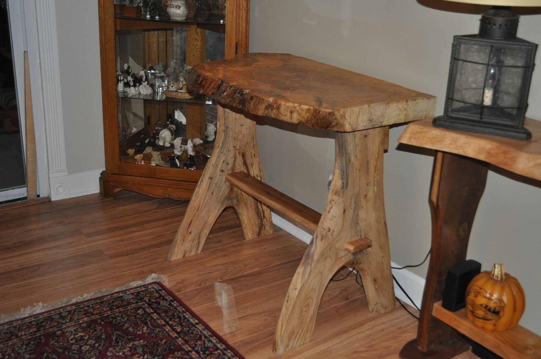 Handmade Rustic Computer Desk By Splinters N More Inc