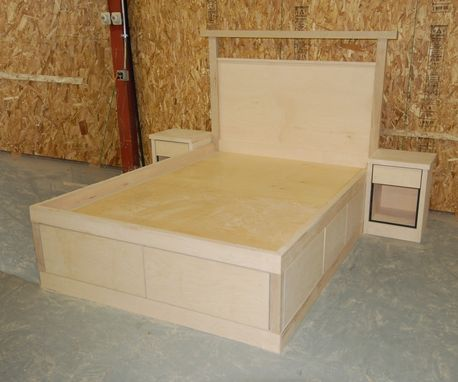 Custom Made Platform Storage Beds