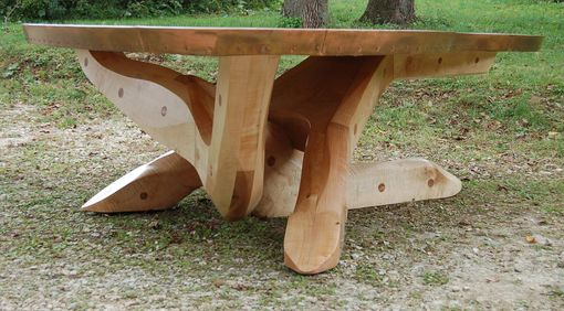 Custom Made Sling Shot Dining Table