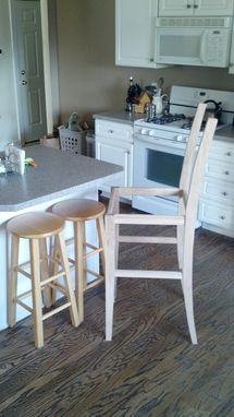 Custom Made Custom Bar Stools