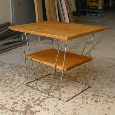 Custom Made Upside Tables, Repurposed Metal, Local & Reclaimed Wood